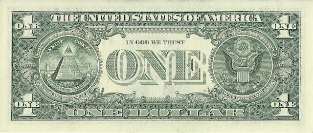2009年美元版背面