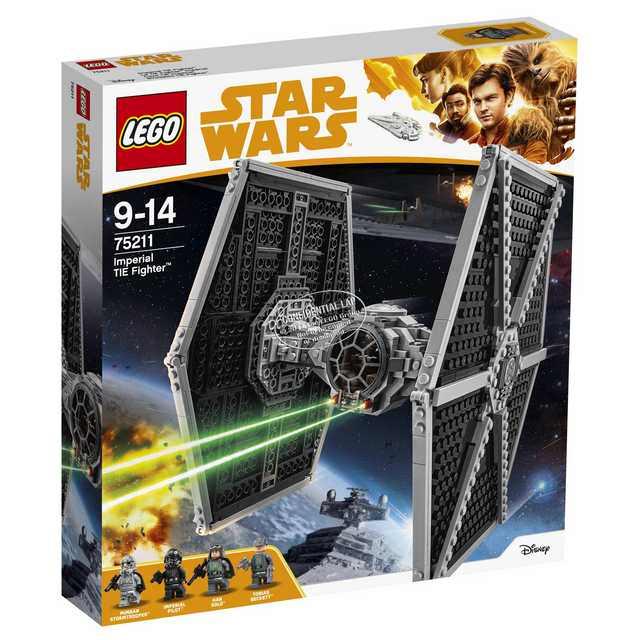 Lego Star Wars Han Solo - Imperial TIE Fighter (75211)