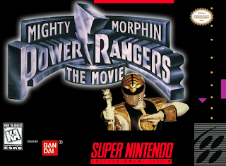 Mighty Morphin Power Rangers - The Movie [ SNES ]
