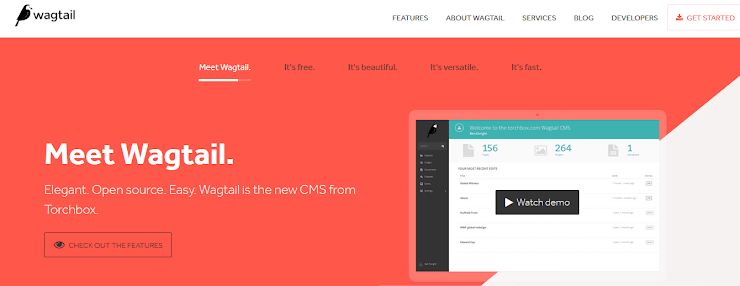 Wagtail CMS