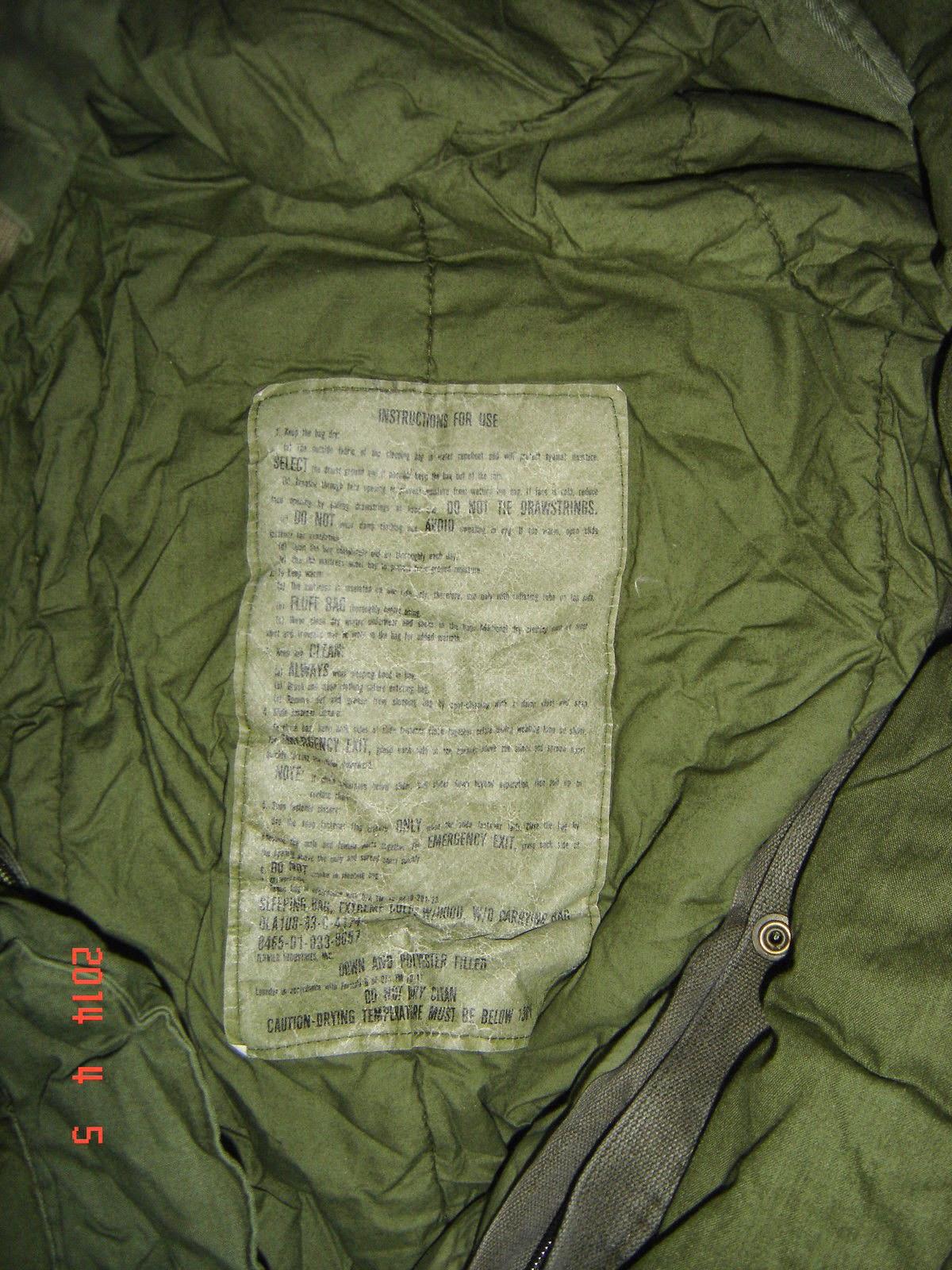 Webbingbabel: US Army Extreme Cold Weather Sleeping Bag ...