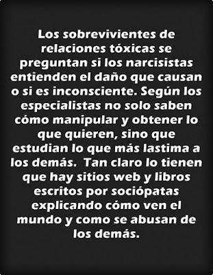 """""""Sobrevivientes de relaciones tóxicas"""" . Imagen"""