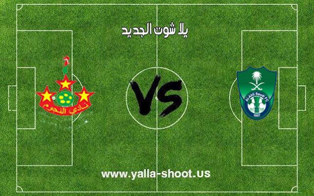 اهداف مباراة الأهلي النجوم السعودي اليوم 18-01-2019 كأس خادم الحرمين الشريفين