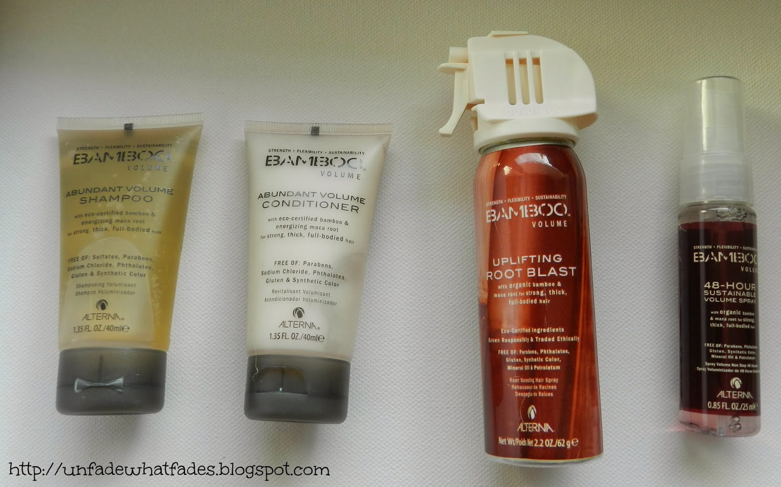 a6304d049a01 Unfade what fades  Alterna Bamboo Volume On-the-Go Travel Set review
