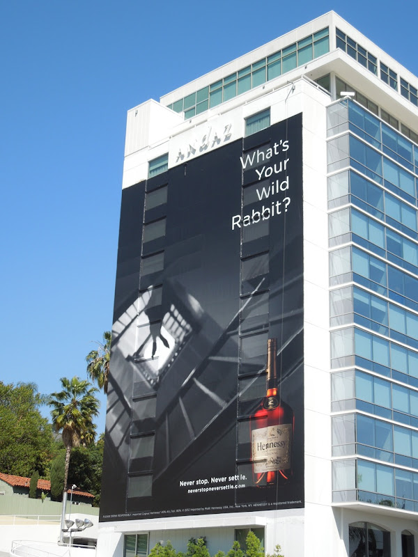 Wild Rabbit Hennessy billboard