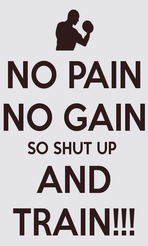 No-pain-no-gain-fitness-motivation