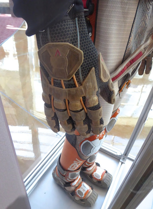 The Martian astronaut spacesuit glove detail