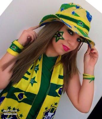 صور مشجعات البرازيل 2018 في الملعب , مشجعات برازيليات جميلات