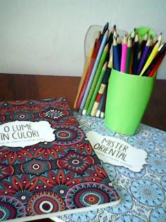 carti si creioane de colorat