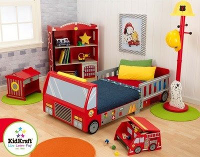 Fire Truck And Fireman Bedroom Decor Ideas