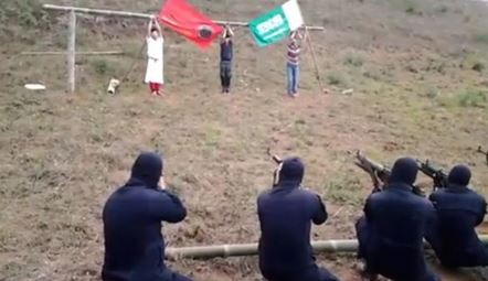 Gruesome MILF Execution Video Leaks On Social Media. Watch At Your Own Risk!