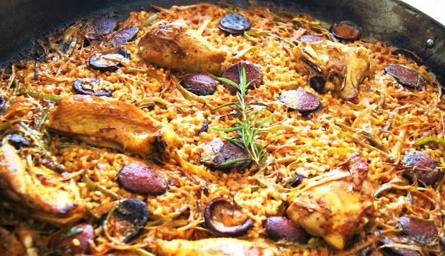 paella chorizo jamie oliver