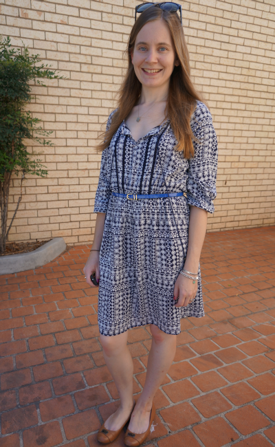 Away From Blue Australian Blogger Jeanswest Chelsea Printed Boho Dress
