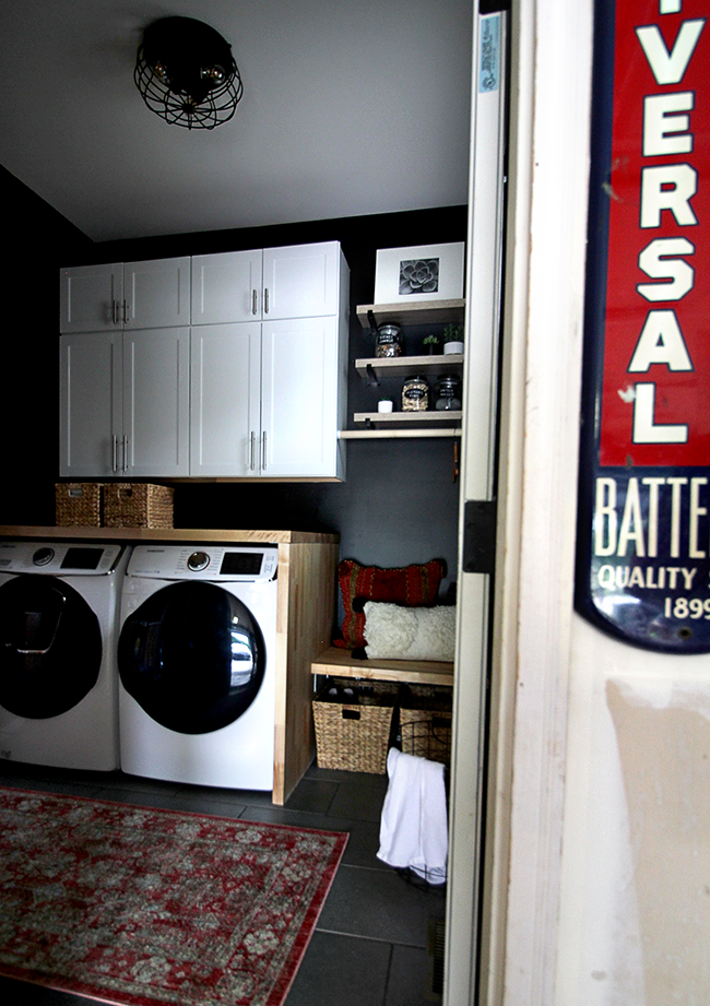 Bubby And Bean Living Creatively Our Laundry Room Mudroom Remodel Reveal