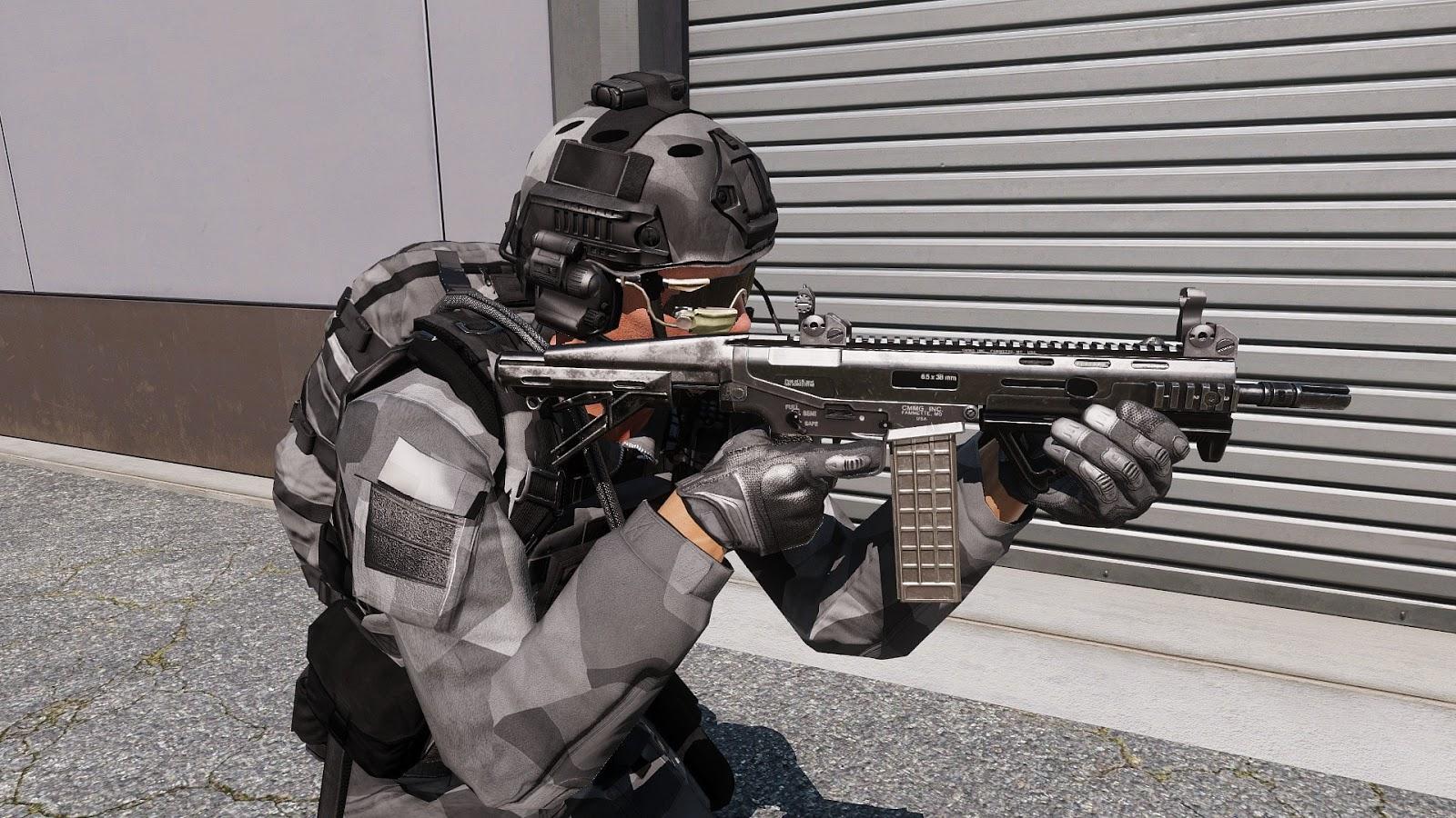 Arma3用スピリンター迷彩アドオン