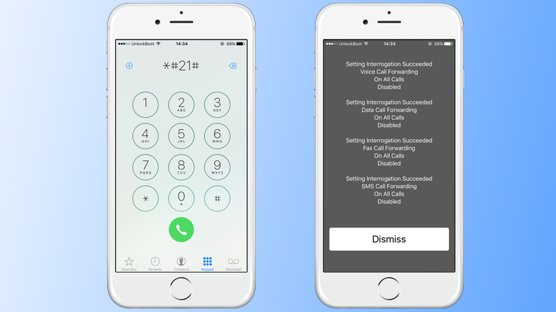 Disable iPhone Call forwarding