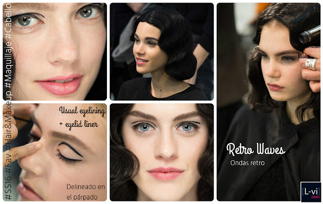 [SS16]Armani Privé - Hair and makeup trends. L-vi.com