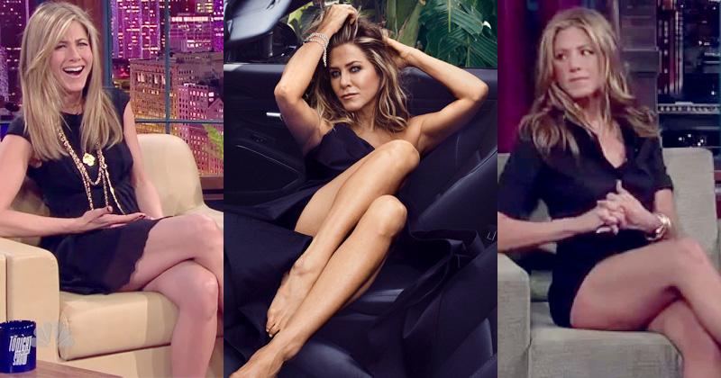 Jennifer Aniston best legs show pics