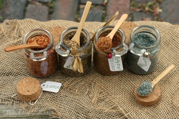 Flavored Sea Salts {DIY}