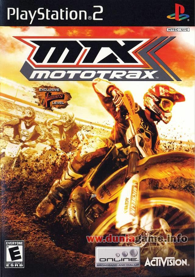 MTX: Mototrax - PS2 ISO