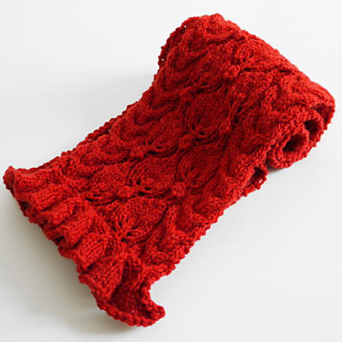 Frilled City Scarf - Free Pattern