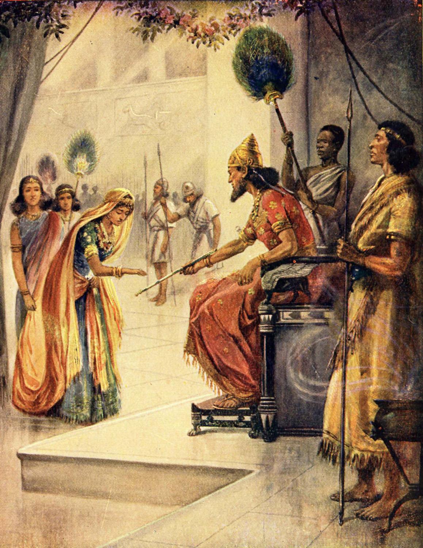 Bible Stories Esther 020911 | Bible Vector - 10 Full ...