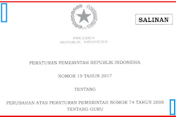 [Download] Peraturan Pemerintah No 19 [Tahun] 2017