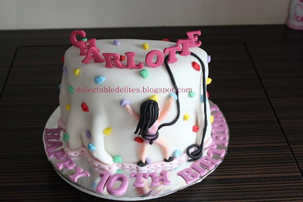 Rock Climbing Birthday Cake Ideas