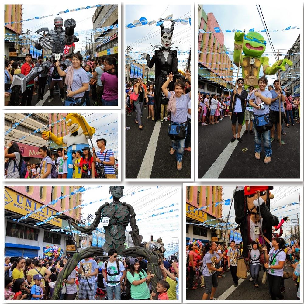 Masskara Giant Puppet Parade