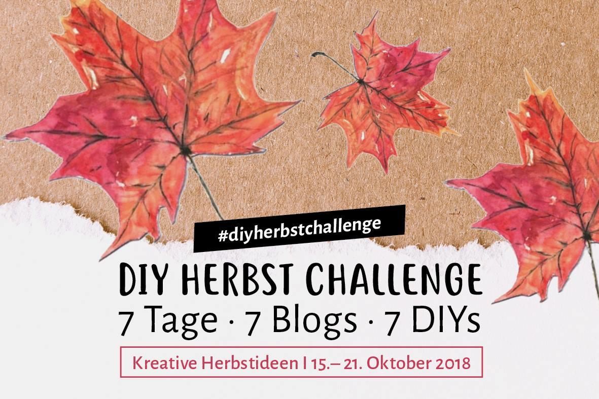 DIY Themenwoche Herbst - die Kreativ Challenge - Beitrag von der lieben Kathleen von Creactcult