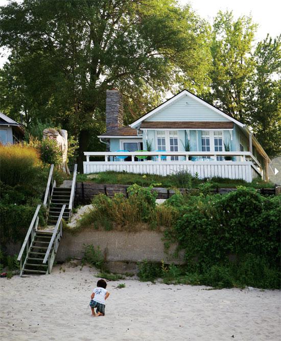 seaside style boho beach house. Black Bedroom Furniture Sets. Home Design Ideas