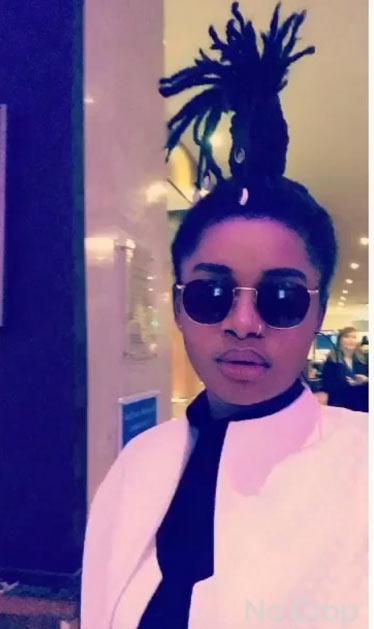 "More photos of rapper Splash and her ""Chinese"" hairstyle (that got people talking)"