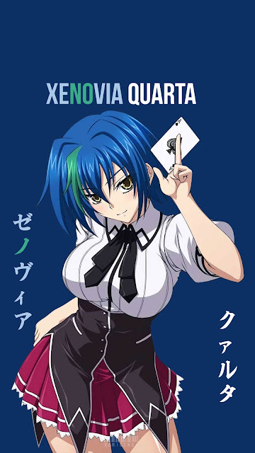 Xenovia Quarta - High School DxD Wallpaper