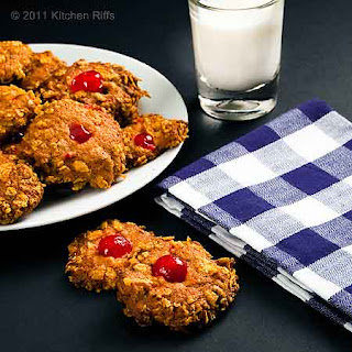 Cherry Winks Cookies