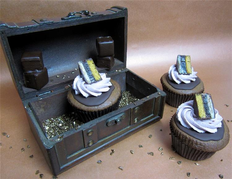 Domino-Cupcakes