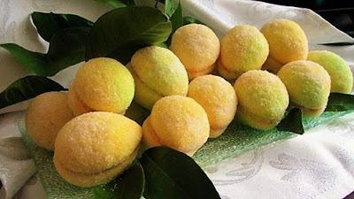 Božićni kolači- Limuni kao breskvice