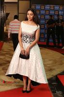Actress Pooja Salvi Stills in White Dress at SIIMA Short Film Awards 2017 .COM 0161.JPG