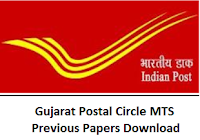 Gujarat Postal Circle MTS Previous Papers