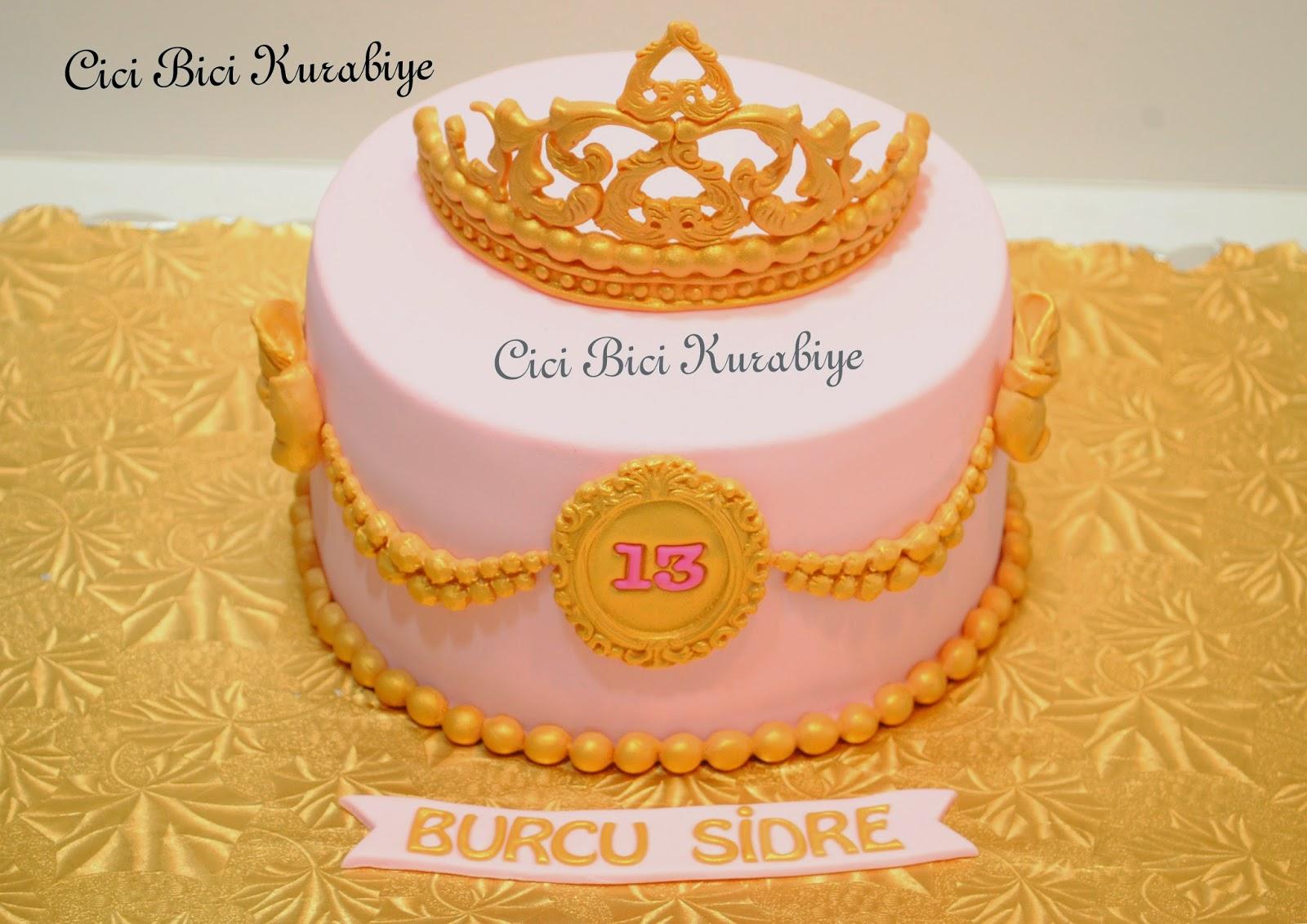 prenses tacı pastaları