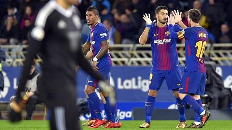 Barca đã hoàn thành mục tiêu đặt ra