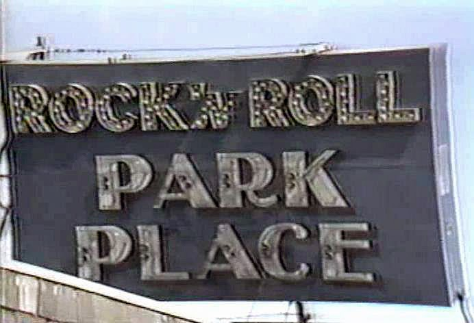 Park Place rock club in Asbury Park, New Jersey