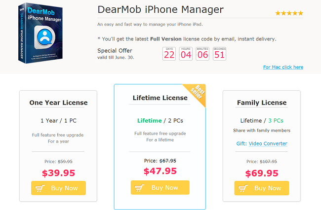DearMob Pricing