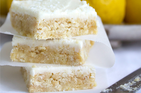 No-Bake Lemon Slice by Eliza Ellis