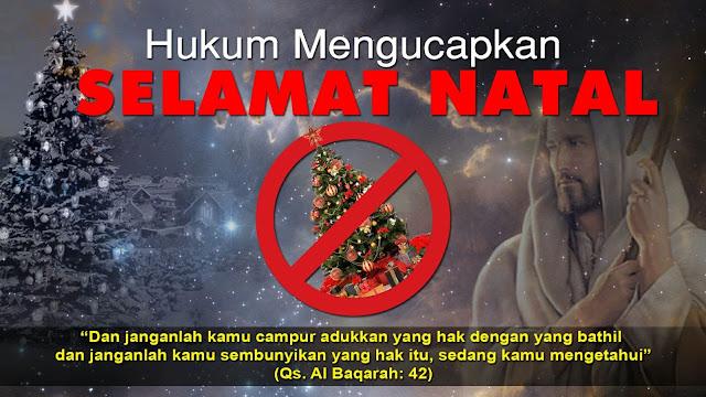 Hukum Mengucapkan Selamat Natal, Benarkah Haram?