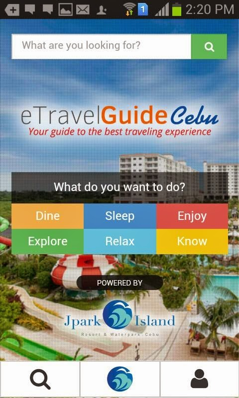 Cebu Travel Guide Mobile App