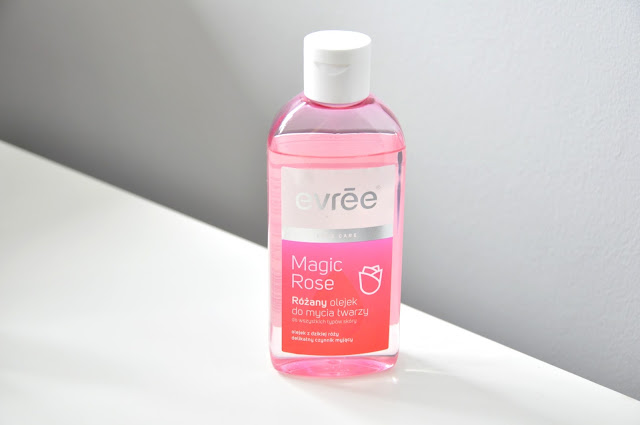 olejek do demakijażu evree magic rose
