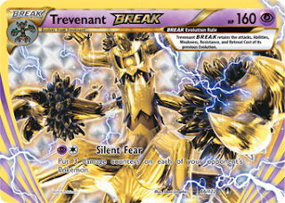 Trevenant BREAK BREAKpoint Pokemon Card