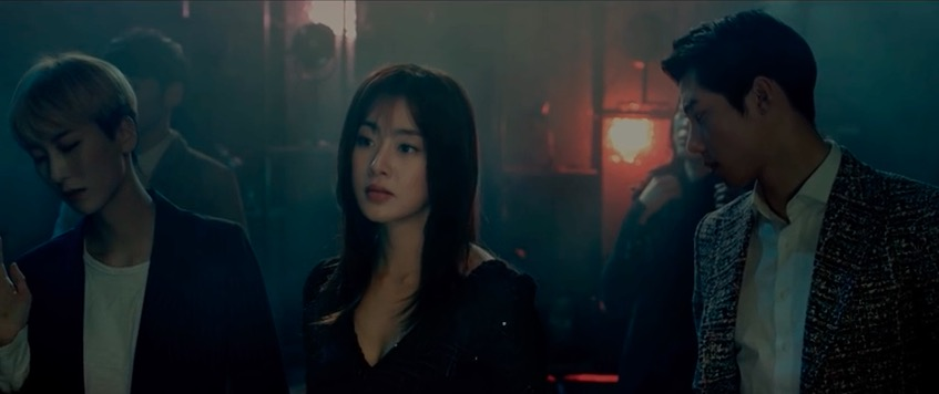 Curtain la colaboración entre Suho y Song Yung Joo