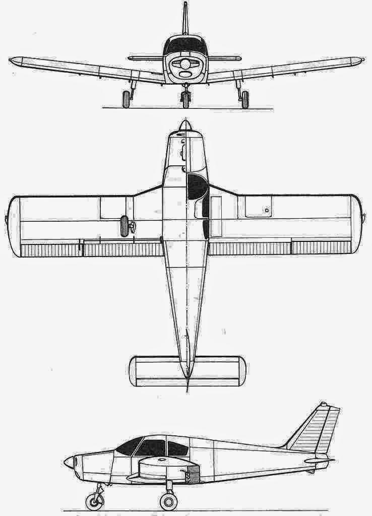 Altimagem: Piper PA-32-300 Cherokee Six