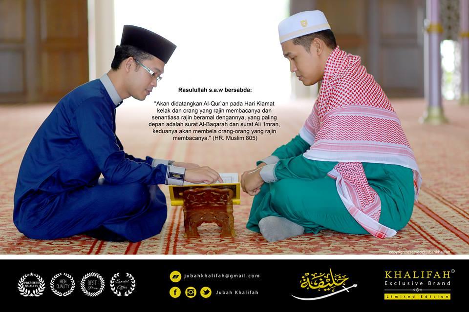 Busana Khalifah Exclusive Brand jubah kurta islam